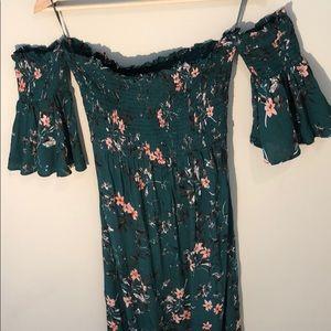 Express Off the shoulder Maxi Dress
